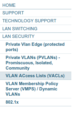cisco-vlan-acl